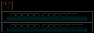 #600 Ontario Northland HS Fluted Side Coach