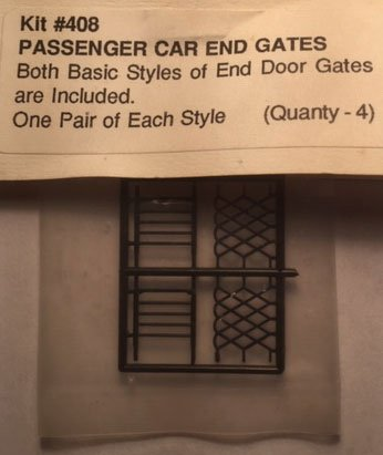 #TSP 408 Passenger Car End Gates